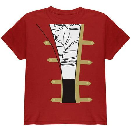 Halloween Spanish Pirate Costume Men Youth T Shirt - Costume Spanish