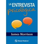 La entrevista psicológica - eBook