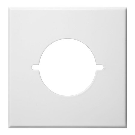 Stainless Steel Metal Wall Plates 2 Gang Metal Range , Dryer Cover White Dryer Wall Plate