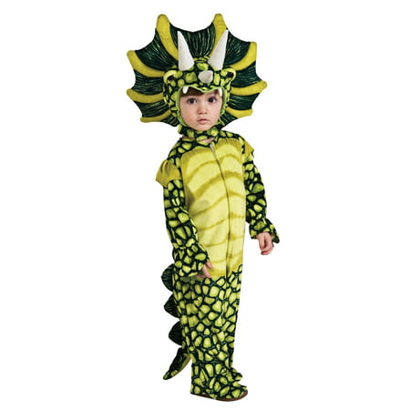 Triceratops Dinosaur Jumpsuit Costume Child - Safari Animal Halloween Costume