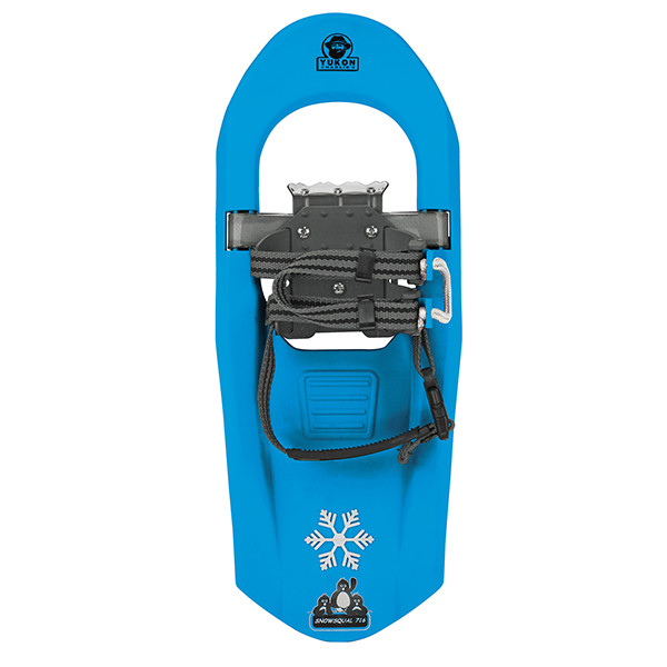 Yukon Charlie's Junior Molded Series Snowshoe-For kids upto 100lbs-Light Blue by Yukon Charlie's