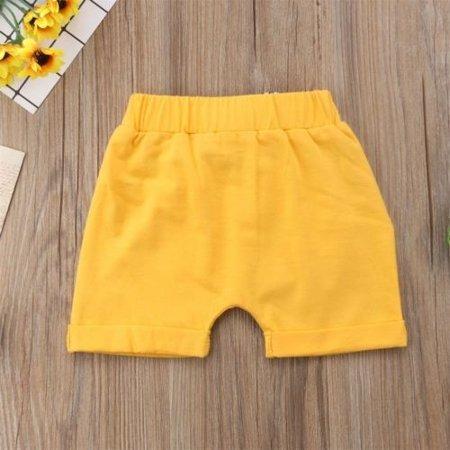 Toddler Infant Kids Baby Boy Girl Casual Shorts Pants  Harem Jogger Trouser - image 5 de 5