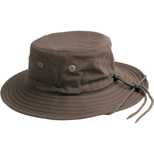 Sloggers 4471DB Men's Large/Extra-Large Dark Brown Classic Cotton Hats