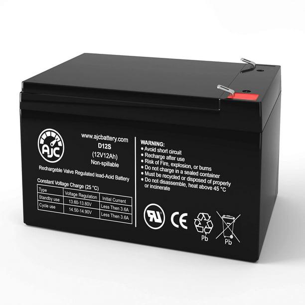 SUA1000 APC Smart-UPS 1000VA USB /& SER 12V 12Ah UPS Battery This is an AJC Brand Replacement