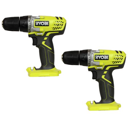 Ryobi Factory Reconditioned HJP003 12V 3/8? Lithium-ion Cordless Drill Driver, Tool Only (2-Pack) Ryobi Lithium Ion Drill
