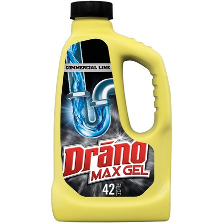 Drano Max Gel Clog Remover, Commercial Line, 42 fl