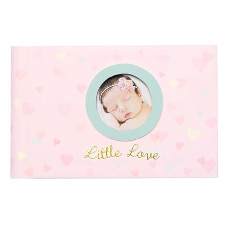 New C.R. Gibson Grandma's Pink Photo Brag Book Holds 40 photos, Little (Cr Gibson Scrapbooks)