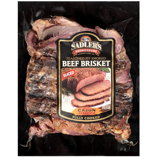Sadler's Smokehouse Sliced Beef Brisket Cajun Seasoned, 24 oz