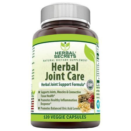 Herbal Secrets Herbal Joint Care 120 Veggie Capsules