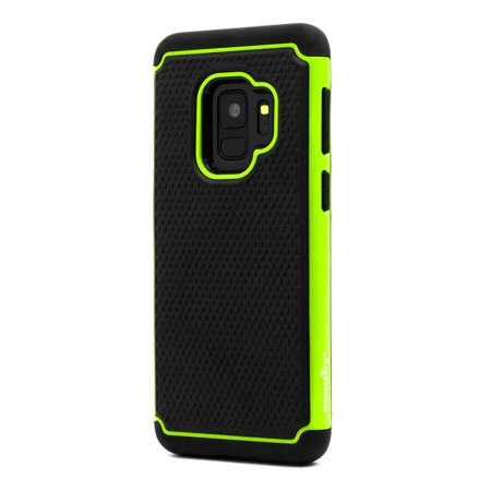 Samsung Galaxy S9 Case Masory Haven Slim Shock Proof Rugged Tough Protector Armor