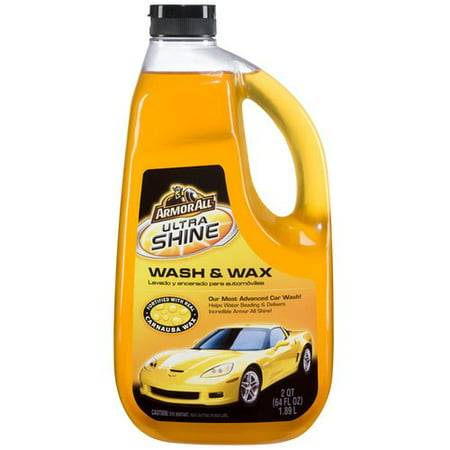 Armor All Ultra Shine Wash & Wax, 64 fluid ounces, 11228 (Car Soap)