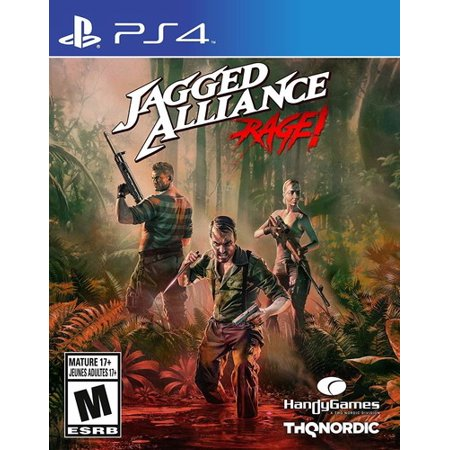 Jagged Allinace: Rage for PlayStation 4 - New Rage Single Card