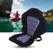 Kayak Padded Seat with Detachable Storage Bag, Portable Adjustable Strap, on Top Pad for Boat Canoeing by ZJchao01