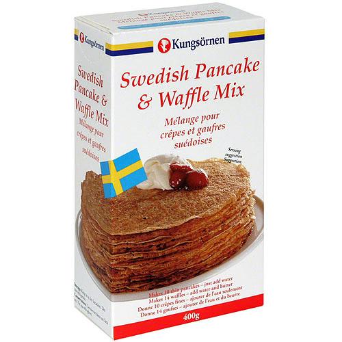 Kungsornen Swedish Pancake & Waffle Mix, 14.1 oz (Pack of 12) by Generic