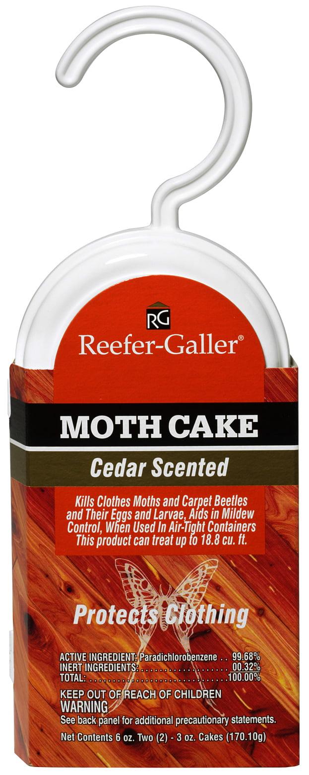 reefer galler moth cake cedar 3 oz 2 ct walmartcom