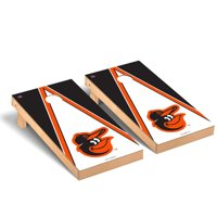 Baltimore Orioles 2' x 4' Triangle Cornhole Board Tailgate Toss Set