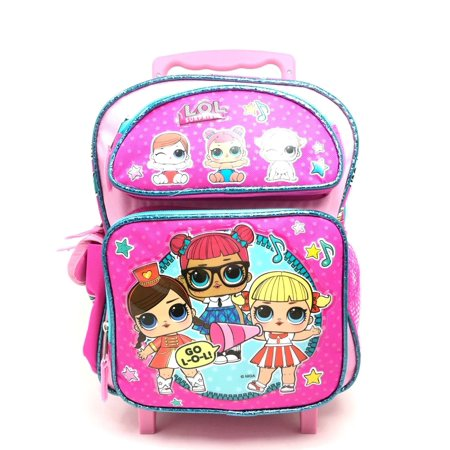 Go Go Girl Bag (L.O.L Surprise! Small School Rolling Backpack 12