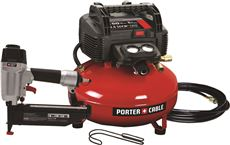 Porter Cable Finish Nailer And Compressor Combo Kit by Porter-Cable