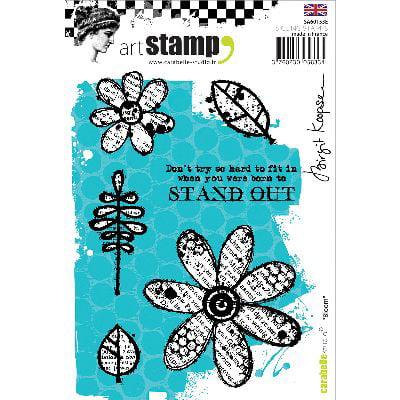 Carabelle Studio Cling Stamp A6-Bloom