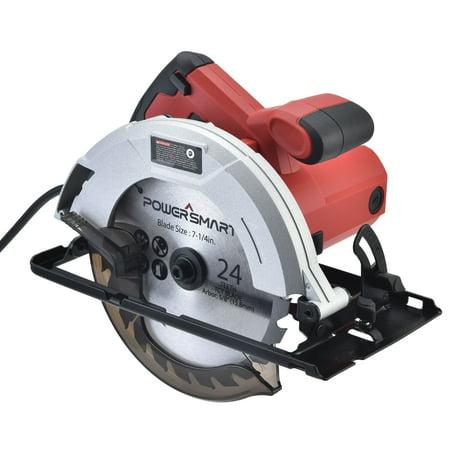 PowerSmart PS4015 7-1/4 in. 14 Amp Electric circular Saw