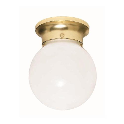 Nuvo Lighting  77/109  Ceiling Fixtures  Indoor Lighting  Flush Mount  ;Polished Brass