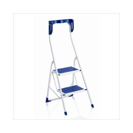 Terrific Leifheit Two Step Safety Ergo Plus Step Stool In Blue Cjindustries Chair Design For Home Cjindustriesco