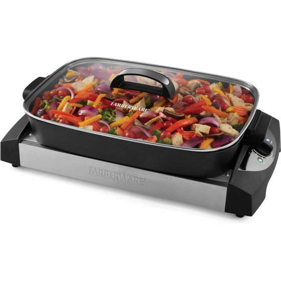 Farberware 3-In-1 Cooking System (Griddle, Grill, Skillet Combo)
