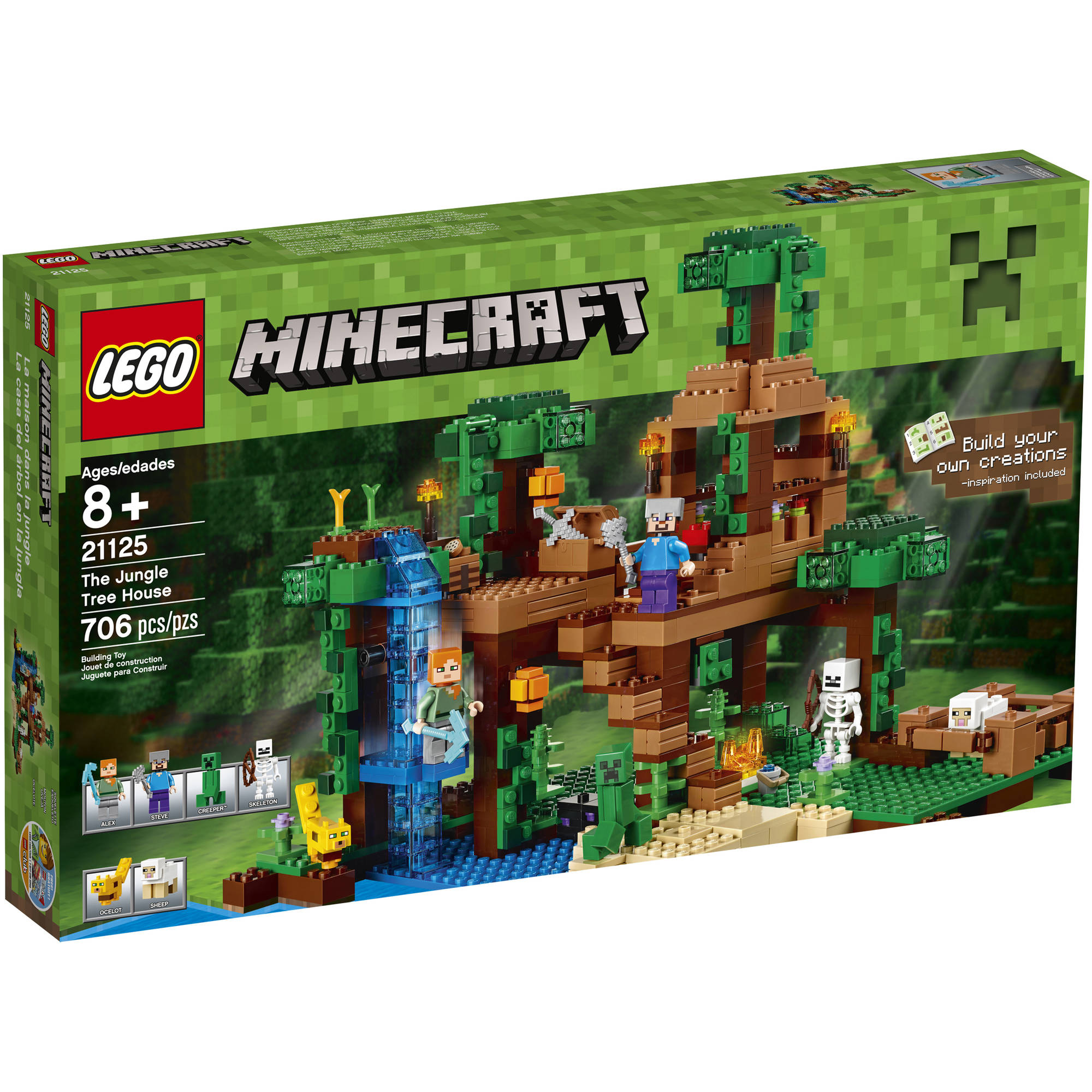 Lego Minecraft The Jungle Tree House 21125 by Diamond Select Toys