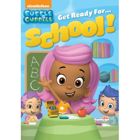 Bubble Guppies: Get Ready for School! (DVD) - Bubble Guppies Games Halloween