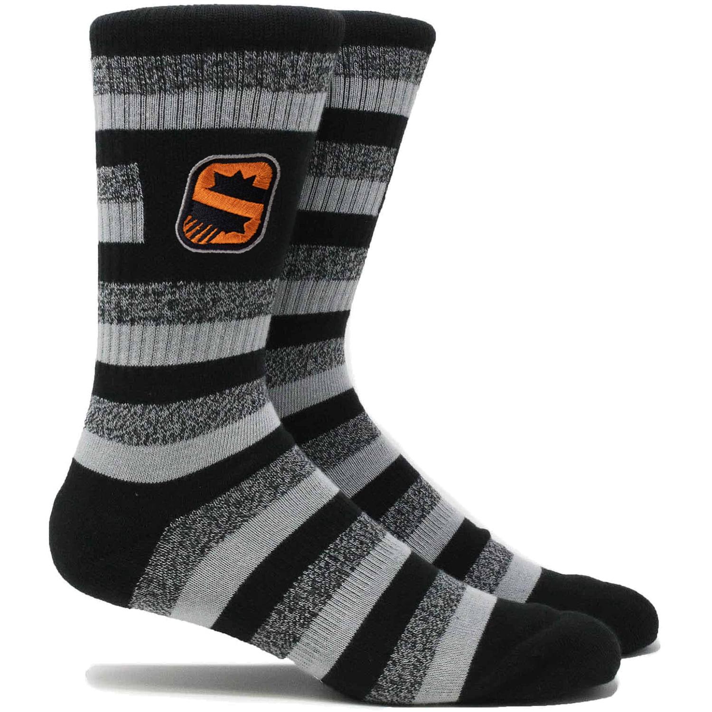 Phoenix Suns Step Crew Socks - L