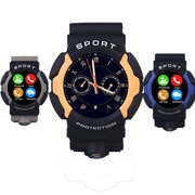 Multi-Functional New IP67 Waterproof Sport Watch Smart Watch With G-sensor For Android iOS Cellphone , Support Temperature Measurement & Heart Rate Detection & USB