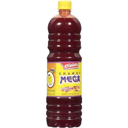 Clasico: Chamoy Mega Fruit Juice, 33 fl oz by Rogello Montemayor