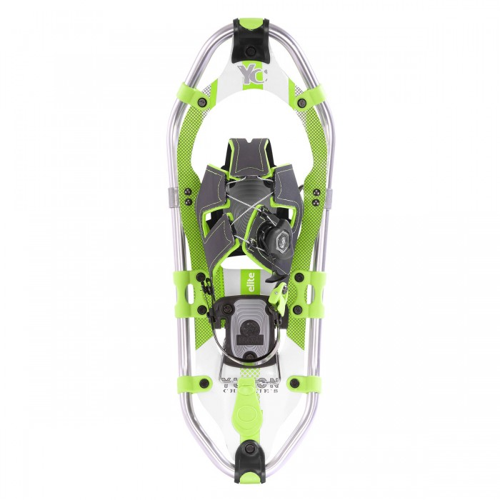 ELITE SPIN Women's Snowshoe 821 (White Lime Green) by Airhead Sports Group