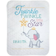 "Janlynn Stamped Quilt Cross Stitch Kit 34""X43""-Twinkle Twinkle Little Star"