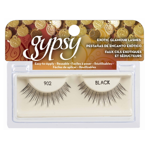 GYPSY LASHES False Eyelashes - 902 Black