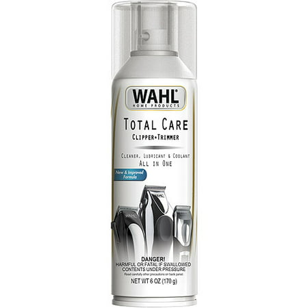 Wahl Total Care Clipper & Trimmer All in One Cleaner, Lubricant & Coolant, 6 fl