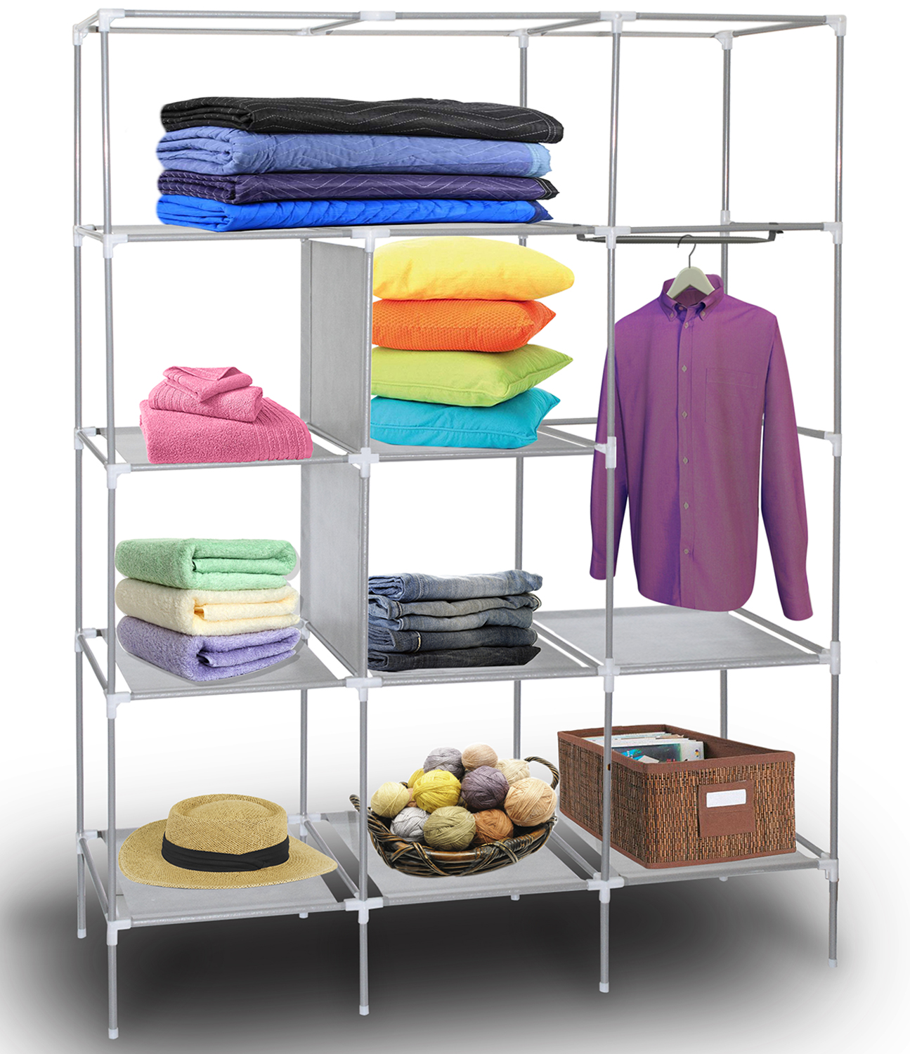 hanging that depot your organizer decor modul can closetmaid and suit customize storage to style shelves for lasting systems provide lowes needs you home shelf closet