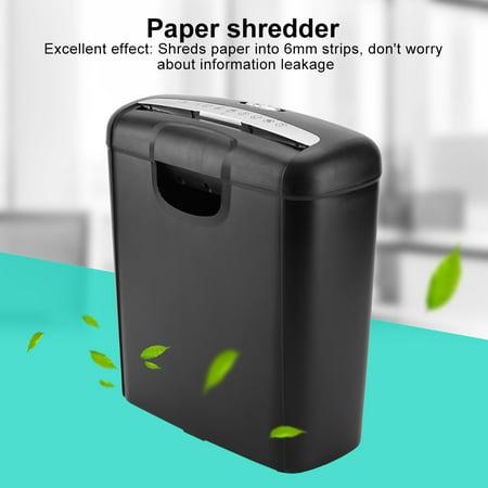 Ejoyous 110V Home Office Electric Shredder for Paper and Credit Card Cross Cut Destroy (US plug), Heavy duty paper shredder, Office