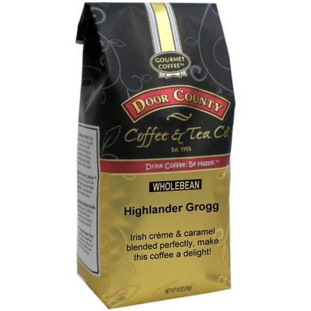 Door County Coffee Highlander Grogg 10oz Whole Bean Specialty Coffee