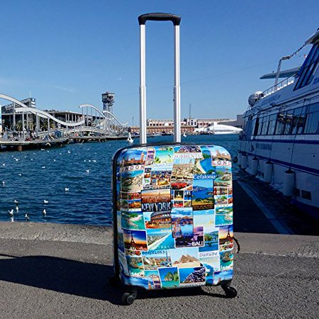 Cabin Max Icon - ABS Lightweight Luggage Suitcase Travel Trolley Carry-on (Antler New Size Zero Cabin Trolley Case 55cm)