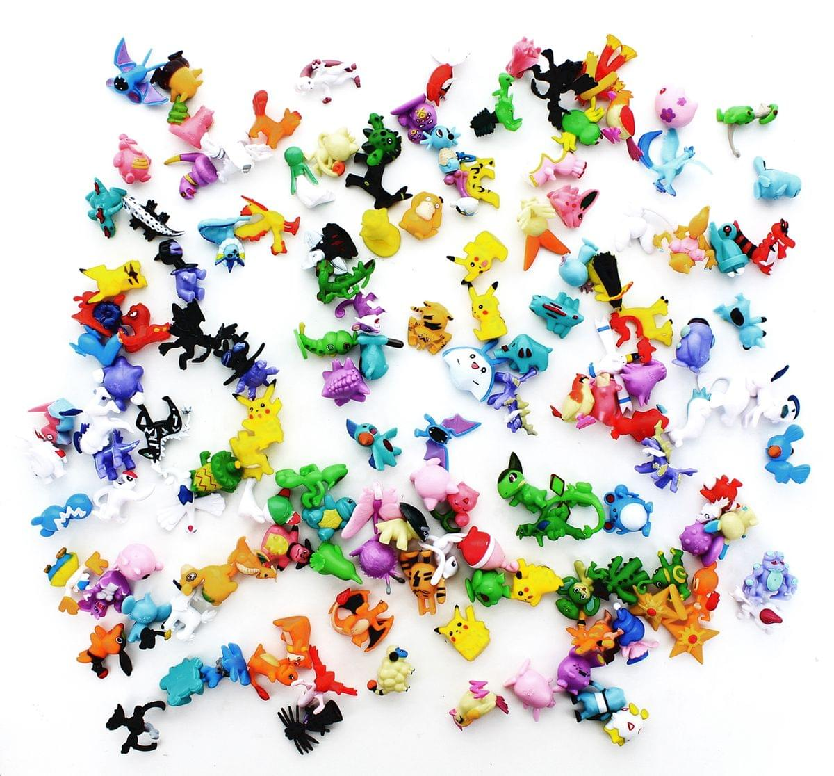 "Pokemon 1"" PVC Mini Figure: Lot of 144 Pieces by Hong Kong 4 U"
