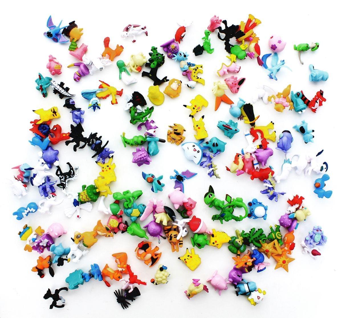 "Pokemon 1"" PVC Mini Figure: Lot of 144 Pieces"