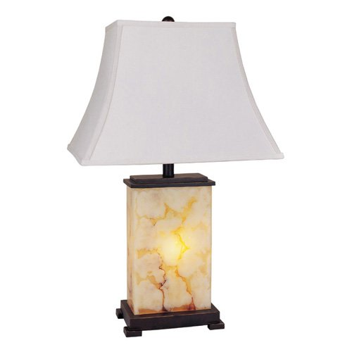 Contemporary Table Lamp with Nightlight