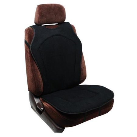 5d9cd35d824 Pilot Automotive SC-279 Seat Cushion - Black - Walmart.com