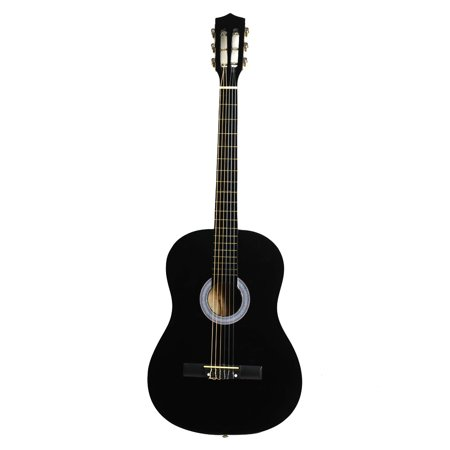 Ktaxon New 38 Inch Classical Black Acoustic Guitar with String & Pick