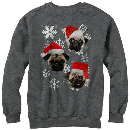 Women's Pug Ugly Christmas Sweater Sweatshirt