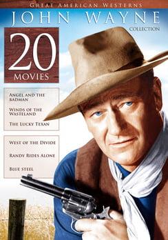 20-Film Great American Westerns: John Wayne Collection (DVD) by Miramax Echo Bridge