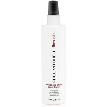Does Black Hair Spray Wash Out (Paul Mitchell Freeze and Shine Spray, 8.5)