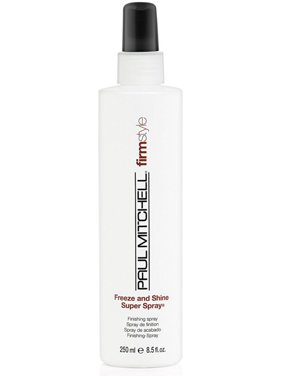 Paul Mitchell Freeze And Shine Super Hairspray Finishing Hairspray, 8.5 Oz