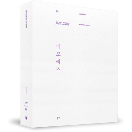 BTS - Memories of 2017 (DVD + Photo Book + Paper Frame + Post Card + Photo Card) - Halloween Movie Specials 2017
